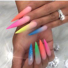 Summer fun!!!! #prettynails #summernails #nailgel #viralnails #nailprodigy #nailmaster #montgomerynails #mattenails #stilettonails #viral #expore
