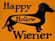 Dachshund Hallowee #dachshund Halloween