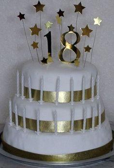 Th Birthday Cakes Th Birthday Cake Birthday Cakes And Birthdays - Happy birthday 18 cake