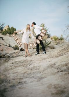 Joshua Tree elopement | photo by Rad and in Love | 100 Layer Cake