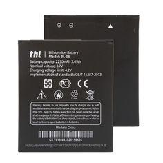 Gốc Điện Thoại Di Động Pin BL-BL06 BL 06 Cho THL T6 T6S Pro T6C Thay Thế Pin Dung Lượng Cao 2250 mAh Miễn Phí vận chuyển