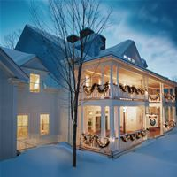 The Pitcher Inn in the picturesque Vermont town of Warren Village is a relais and chateaux member offering the finest in accommodations and dinning