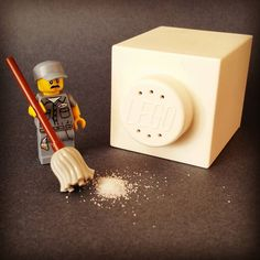 """Salt & Broomstick"" #legophotography #lego #legostagram #minifigures #lego_hub #legominifigures #legomania #afol #brickpichub #brick #bricknetwork #brickinsider #salt #salty #broomstick by legodavinci"
