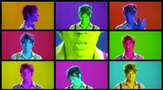 The many faces of Nate Ruess. Walking the Dog. Fun.
