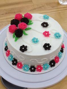 My wilton course 1 final cake