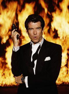 Pierce Brosnan as James Bond in the film 'GoldenEye', 1995