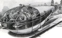 Dark Roasted Blend: Retro-Future: Mind-Boggling Transportation