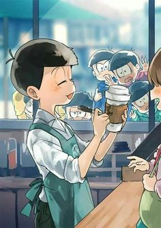 Osumatsu san imagines y comics Anime Love, All Anime, Me Me Me Anime, Anime Manga, Anime Art, Osomatsu San Doujinshi, Comedy Anime, Another Anime, Anime Kunst