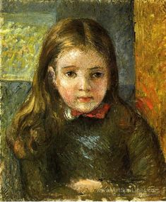 Favorite painting Portrait of Georges by Camille Pissarro
