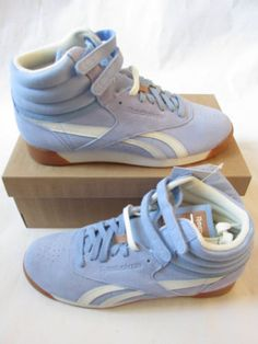 62323acc0fa reebok classic womens F S freestyle HI suede hi top trainers V55549 sneakers