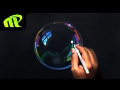 Soap Bubble Drawing - Time Lapse | Hyper Realistic | Trick Art - YouTube