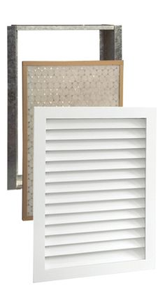 Return air vent cover so much nicer looking interior decor pinterest style vent covers - Interior door vent grill ...