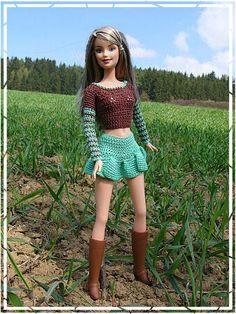 barbie-hanneton.blog.cz ..crochet Barbie outfits 46.3 20 qw