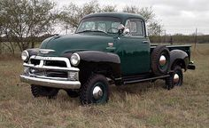 1955 Chevy Stepside PU Tuck 4X4