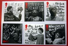 "Royal Mail's 'Midsummer Night's Dream"" stamps. Design by Hat-Trick, Lettering by Marion Deuchars."