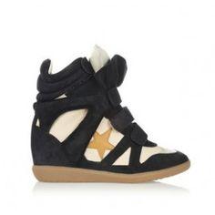 Bayley Isabel Marant Sneaker Suede Navy White