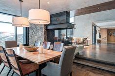 Потрясающая резиденция в штате Монтана от компании Pearson Design Group #architecture #interior #design #creative #house 