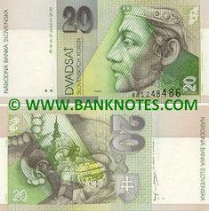 Money Notes, Old Coins, Bratislava, Stamp, Retro, Czech Republic, Prague, Celebrity, Gallery