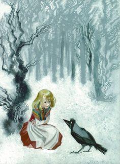 """djevojka (djevojka: """"The Snow Queen""""byNika Goltz)"""