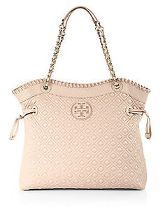 Tory+Burch Marion+Quilted+Slouchy+Tote