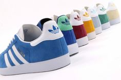 Adidas Og, Adidas Sneakers, Shoes Sneakers, Football Casuals, Pastel Shades, Adidas Gazelle, Summer Months, Cool Kids, Adidas Originals