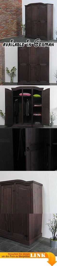 B014I2W3F0  Wimex 248771 Kleiderschrank Holz Front mit Aluminium - schlafzimmerschrank landhausstil weiß