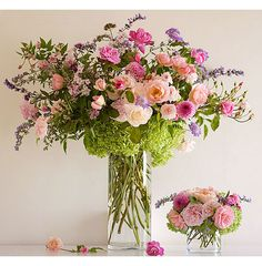 I LOVE arrangements that look like they were grown in your own flowerbeds.