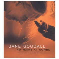 Jane Goodall-Have this signed poser hanging in my family room!