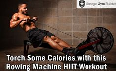 A rowing machine HIIT #workout guaranteed to get the blood flowing. Take your #fitness to the next level with this awesome #HIIT workout.