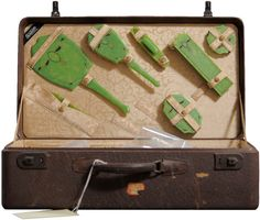 Photographer Jon Crispin documented abandoned suitcases from the Willard Asylum in New York.