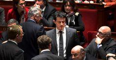 Le discours de Valls à l'Assemblée salué par la classe politique