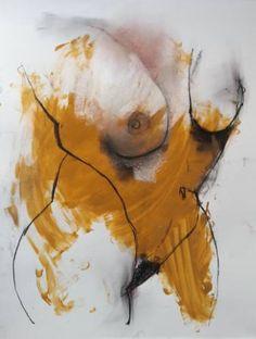 "Saatchi Art Artist Badri Valian; Painting, ""Every midnight , Hollywood star is naked in Beverly Hills ."" #art"