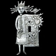 NEW! Leandra Drumm Garden Love Switchplate