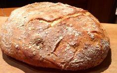 Bögrés házi ropogós kenyér Bread, Food, Brot, Essen, Baking, Meals, Breads, Buns, Yemek