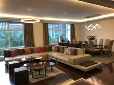 One Roxas Triangle: Penthouse unit and unit - Property Provider Group Makati, Pent House, Condominium, Real Estate, Couch, Flooring, Furniture, Home Decor, Settee