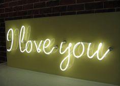 I love you Custom Neon Sign