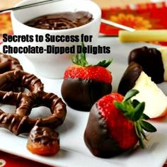 Chocolate-Dipped Delights by Citronlimette