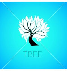 Paper tree vector 1870633 - by sidmay on VectorStock®