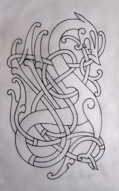 I'd love an old norse-style tattoo someday