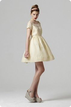 Perfect. Dress & shoes by Orla Kiely.