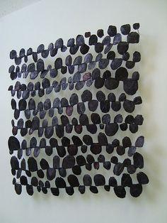 Dutch fibre artist, Marian bijlenga. Fish scales