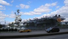 Get more information about the Intrepid Sea, Air & Space Museum on Hostelman.com #United #States #museum #travel #destinations #tips #packing #ideas #budget #trips