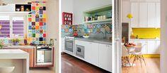 The Blue Post: Cozinhas coloridas