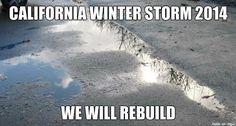California storm 2014
