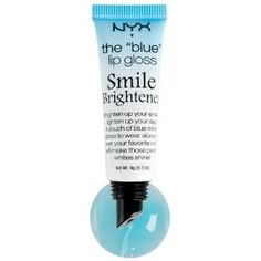 NYX Mood Lip Gloss Smile Brightener MLG04 by NYX Cosmetic. $7.52. #MLG04 The Blue Lip Gloss. Set the mood with any of our Mood Lip Glosses available in 4 shades! Each lip gloss transforms into a different beautiful hue based on the person's mood. The moisturizing formula applies clear and shiny, then develops into a rosy tint that is perfect alone or over a lipstick! Romantic Love (MLG01) Inthe mood for love? This astonishing lip gloss goes on clear and then self...