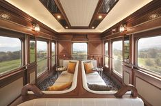 This blue and silver train, like a faerie chariot, goes deep into Ireland, a land where myth and superstition inhabit a gorgeous, many-storied landscape. Train Bed, By Train, Travel Competitions, Train Vacations, Trains, Cruise Travel, Vacation Travel, Travel Destinations, Train Journey