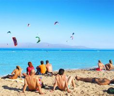 El Gouna, kite-surfing, Egypt