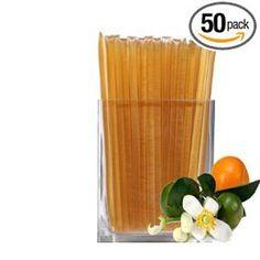 Floral Honeystix - Orange Blossom - 100% Honey - Pack of 50 Stix - 250g