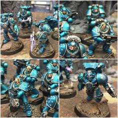 Hello guys! This is pre-heresy Alpha Legion, built and painted by me. The top left and bottom right contains shots of command squad. The other two have the first tactical veteran squad. The command...