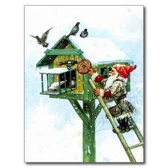 Welcome Yule - Tonttu Elf Postcards